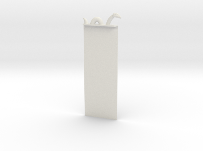 Loch Ness Bookmark 3d printed