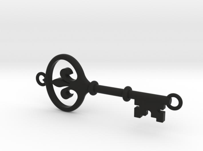 Kappa Key - Hooped Top Bottom 3d printed