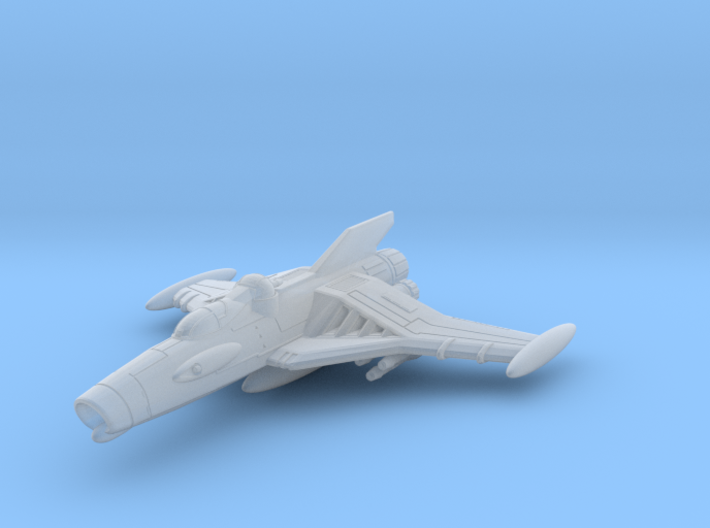 EDSF Cosmo Hawk Class Fighter Bomber 3d printed