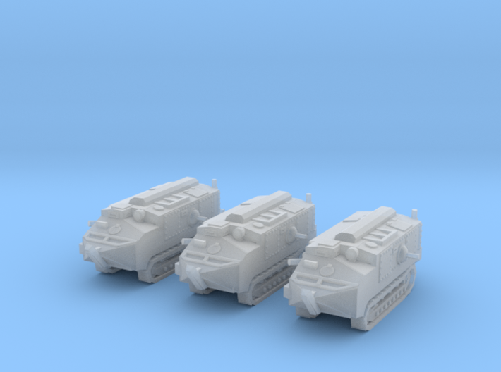 1/200 Schneider CA-1 tanks 3d printed