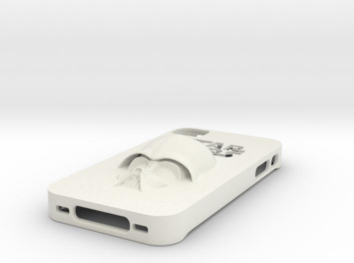 iPhone 4 case - Darth Vader 3d printed