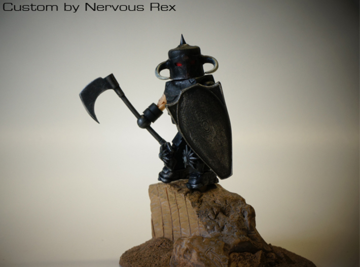 Death Dealer's Axe for Minimate 3d printed Custom by Nervous Rex