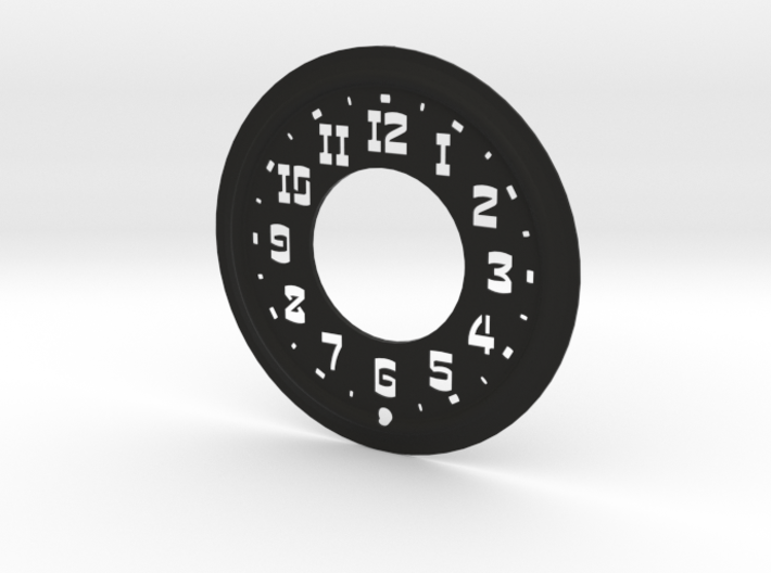 Hudson Clock Face 3d printed