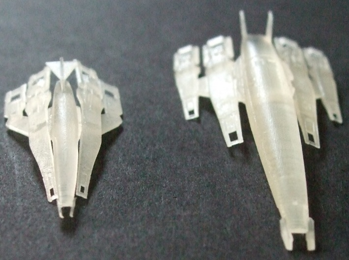 1/2500 Mass Effect SSV Normandy SR1 (Printed) 3d printed