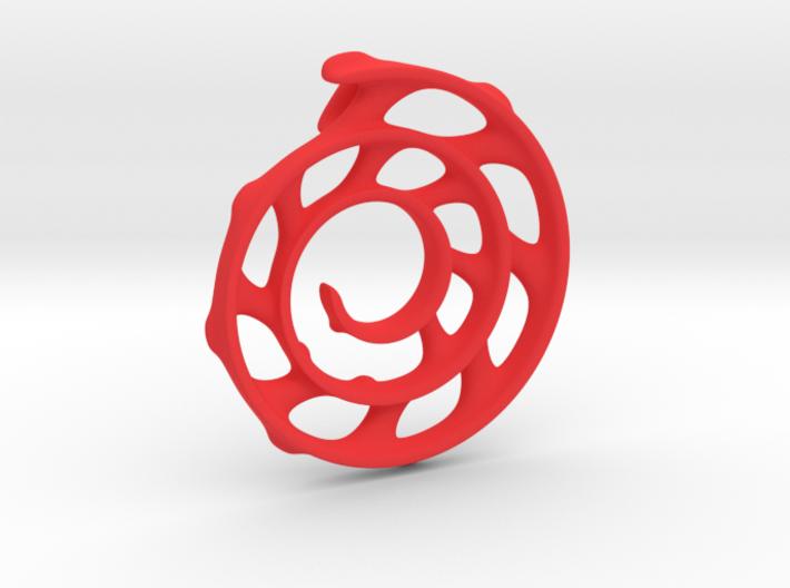 Koru Spiral: 5cm 3d printed