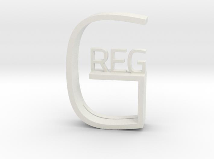 Greg 3d printed