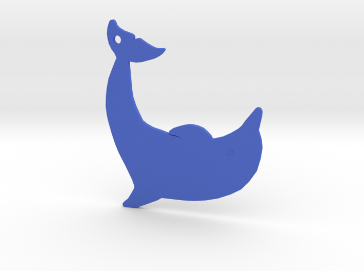 Dolphin 3d printed