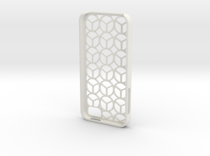 Iphone 5 case peace 3d printed