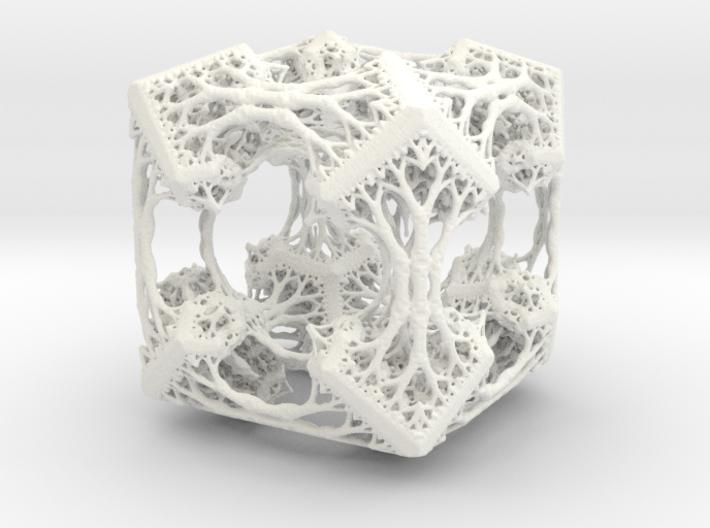 Cubic Woods - Fractal Sculpture & Light Cave 3d printed