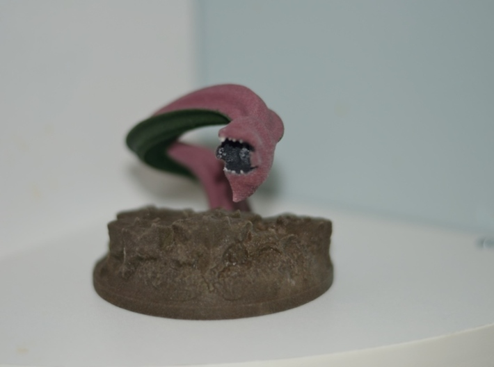Dungeons and Dragons Purple Worm 3d printed