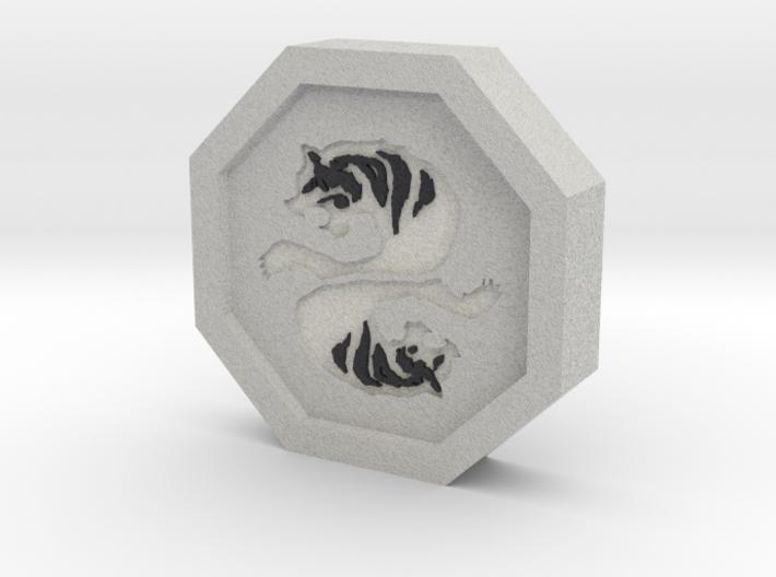 Tiger Talisman 3d printed