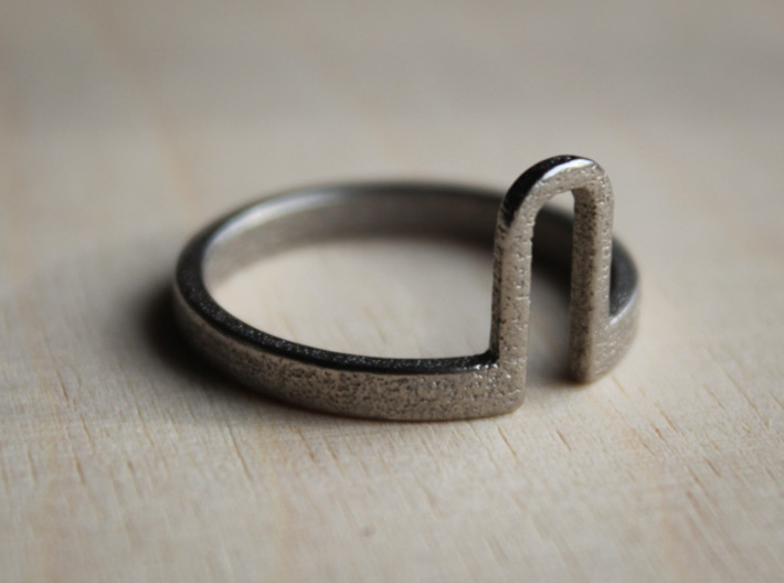 Notch Ring - Size 11.5 3d printed