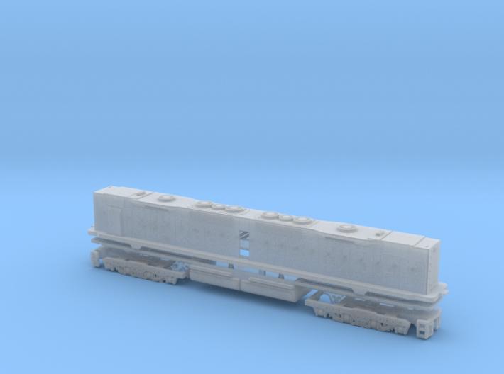 EMD DD35 Dummy N Scale 1:160 3d printed