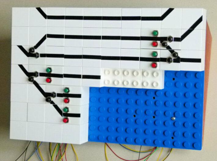 GBS-Signalbaustein 3d printed GBS im Bau