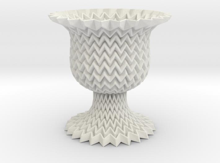 Globet Tessellated Shape Miura Lite 3d printed