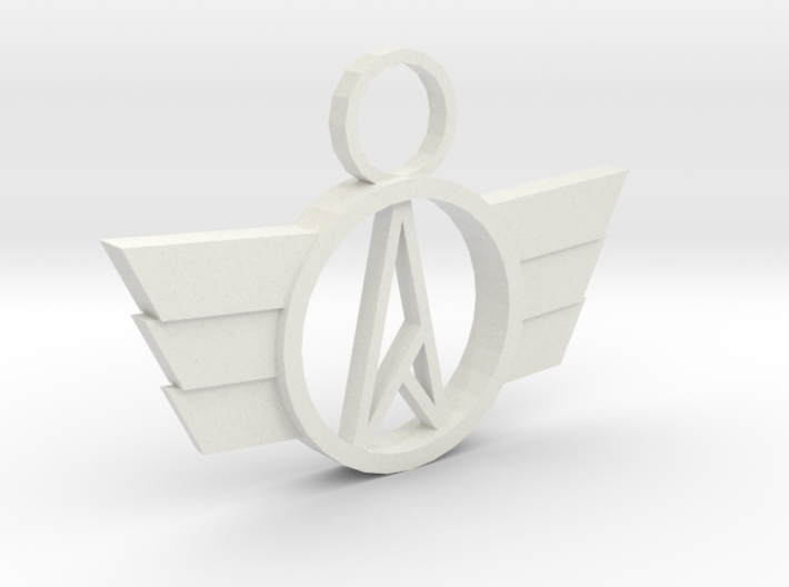 Neo-A Pendant 3d printed