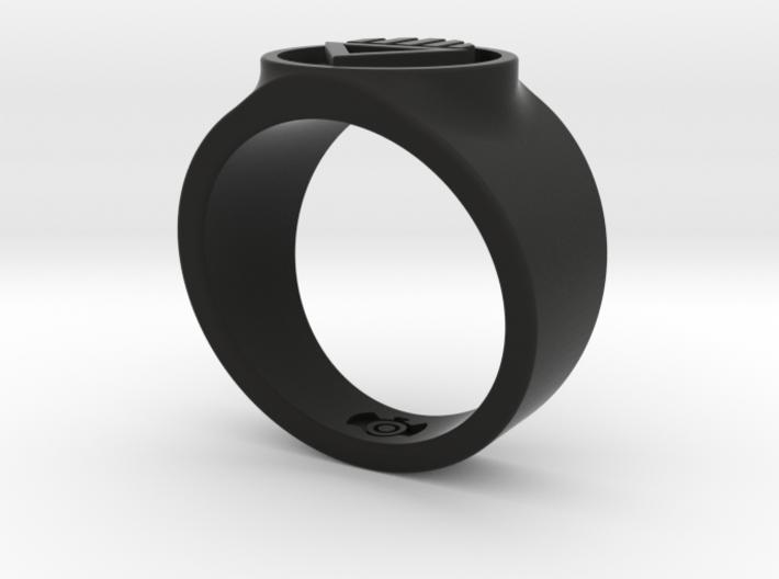 Black Death GL Ring Sz 11 3d printed