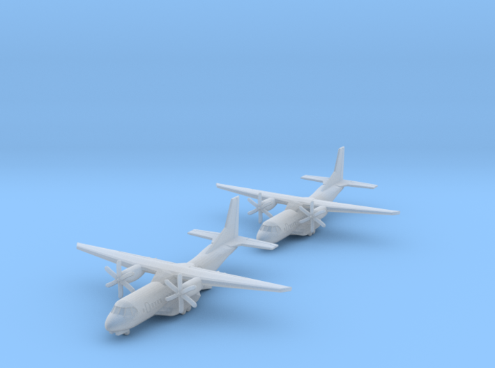 1/700 C-295 with Gear x2 (FUD) 3d printed