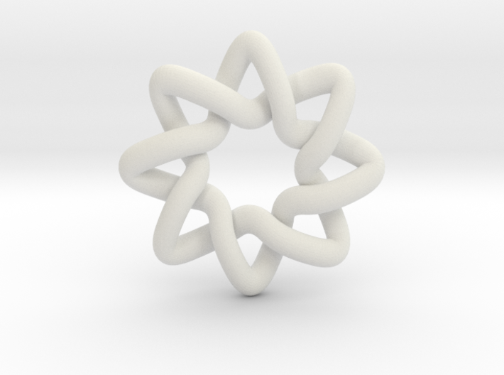 Basic Compass Knot 3d printed