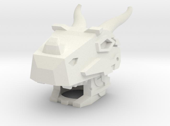 Robohelmet: Grimace 3d printed