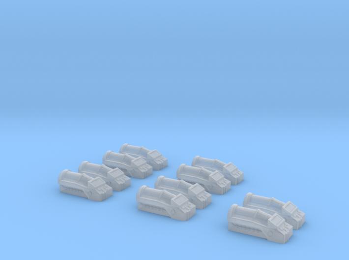 Cryochamber Set 3d printed