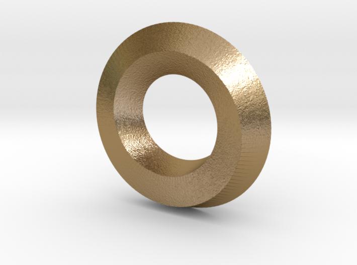 Mini (5,1) Mobius Spiral 3d printed