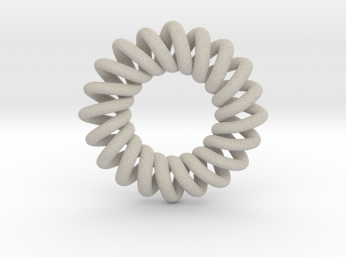 Basic 20-point Knot 3d printed