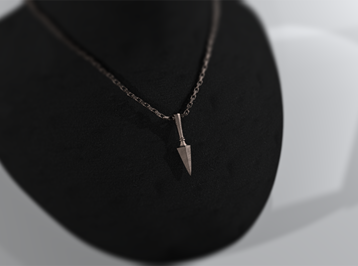 Gungnir, the Spear of Odin Pendant 3d printed