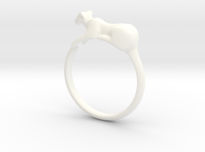 Feline Band - Bangle version - Size 55 mm 3d printed