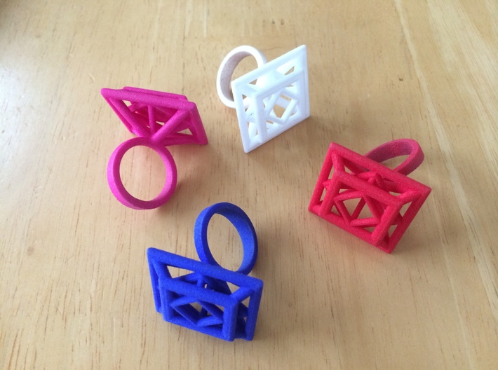 Princess Ring Size 6.5 3d printed