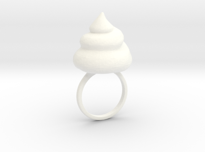 Big Shit Ring Size US 6 (16.5mm) 3d printed