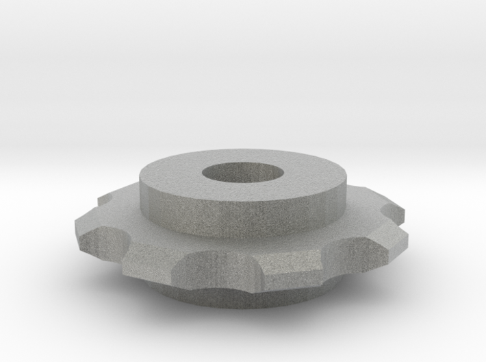 Hex Nut Sprocket 3d printed