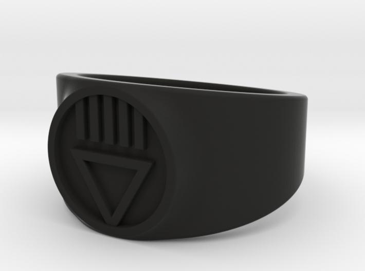 Black Death GL Ver 2 Ring Sz 14 3d printed