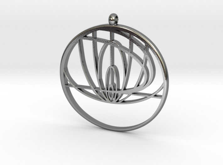John Titor Necklace 3d printed