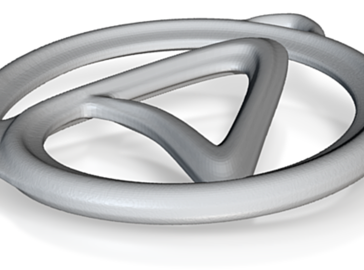 Atheism A Pendant 3d printed