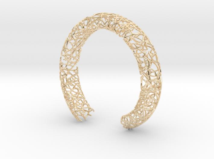 Bracelet (piece number 1) 3d printed