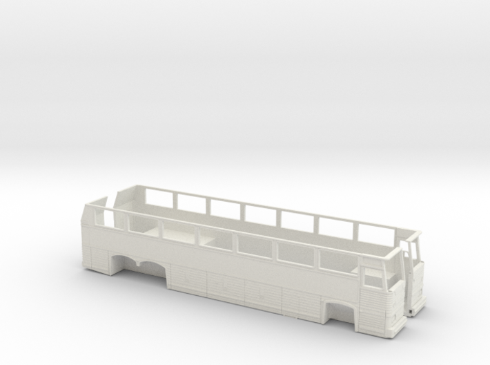 1:87 HO Scale MCI MC9 Motor Coach Bus 3d printed