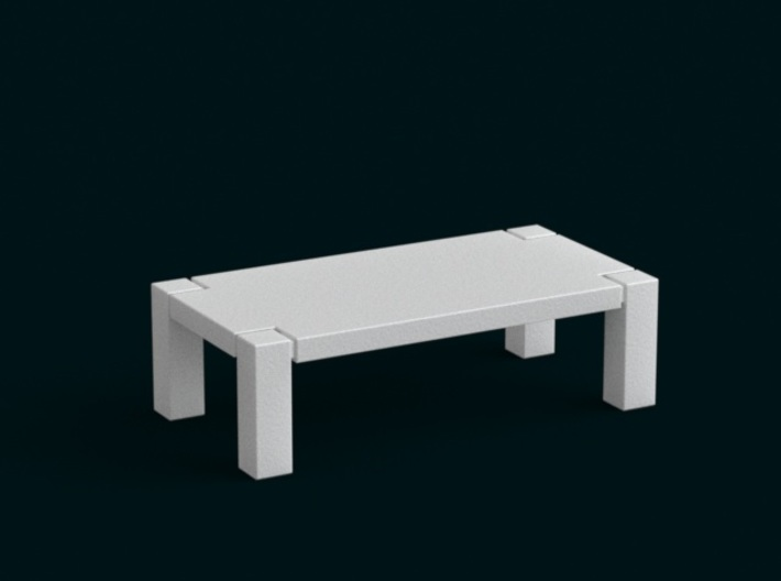 1:39 Scale Model - Table 01 3d printed