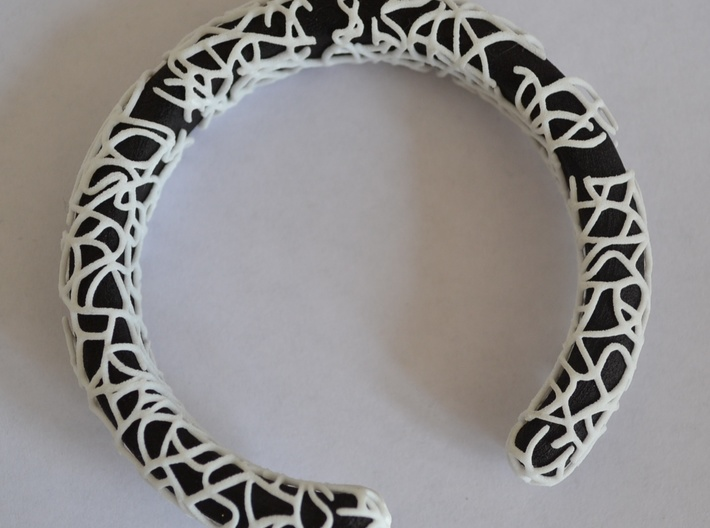 Bracelet (piece 1, 2 and 3) 3d printed