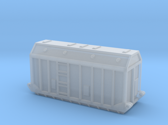 Z Gauge 1:220 Generator Trafo groß  3d printed