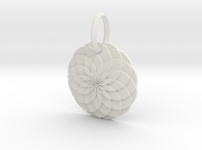 Sacred geometry Pendant 3d printed