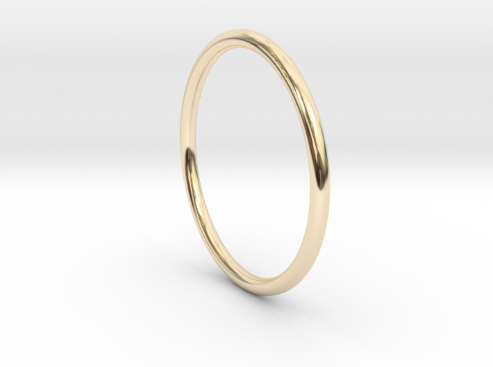Round One Ring - Sz. 6 3d printed
