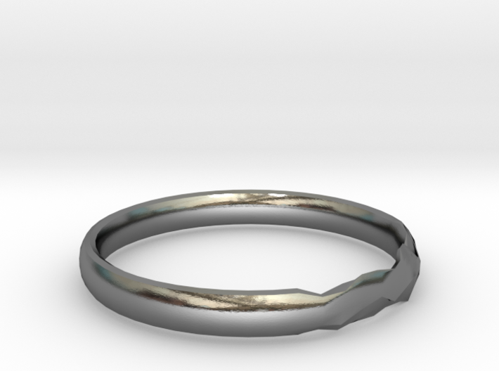Shadow Ring US 8 5/8 UK Size R 3d printed