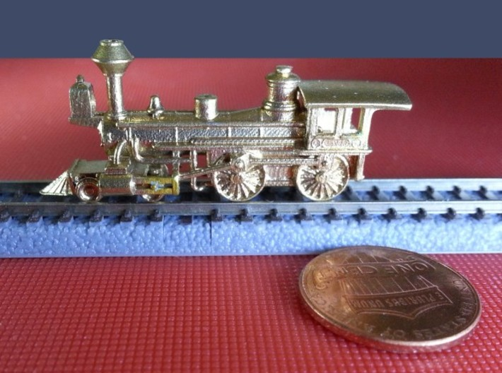 Grant 4-4-0 Metal - Zscale 3d printed