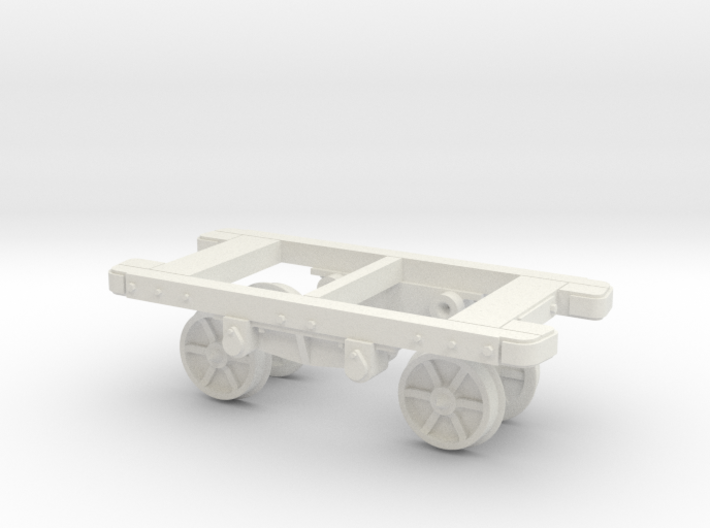 O9 Depford wagon chassis 3d printed