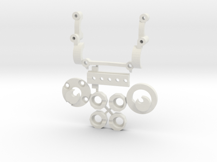 Subchassis V6 Smallparts 3d printed
