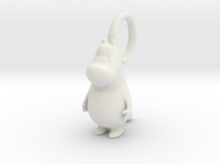 Snorkmaiden Charm15mm-5mm hole for Pandora Compati 3d printed