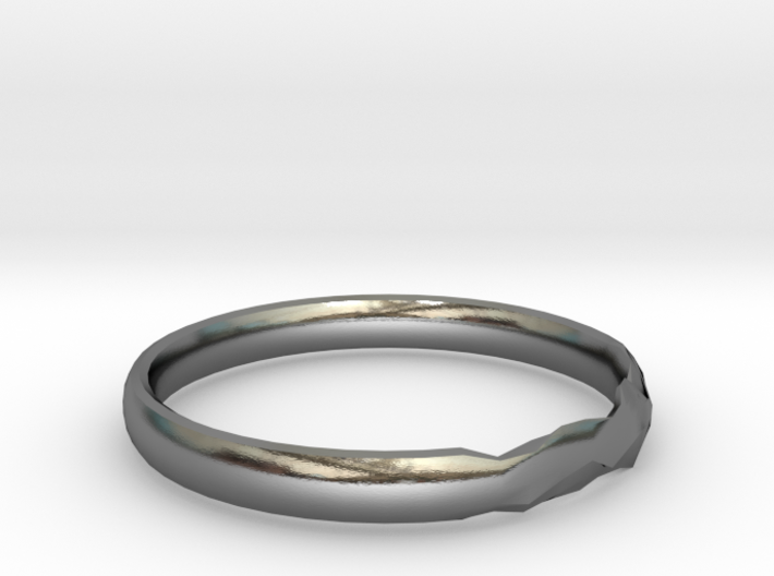 Shadow Ring US Size 8 UK Size Q 3d printed