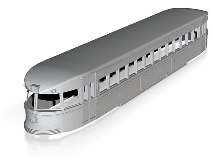 O Scale 1:48 Brill Bullet Interurban Trolley Body 3d printed