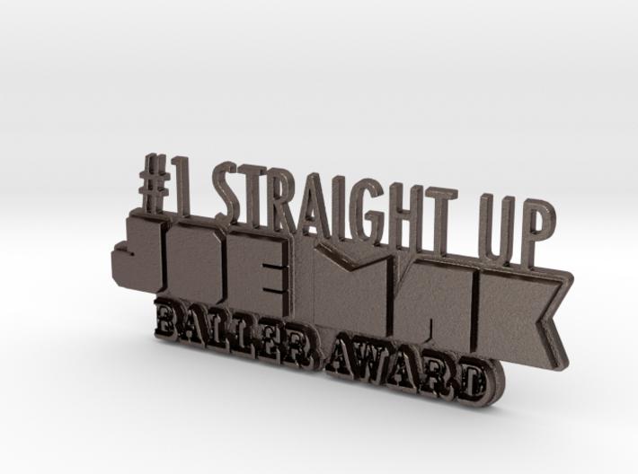 JoeMak Baller Award 3d printed
